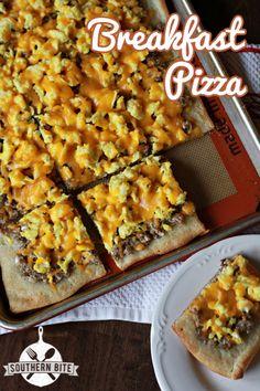 Breakfast Pizza - Easy and Delicious #Breakfast #Recipe