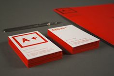 A +  Self-Branding by Abbas Mushtaq, via Behance