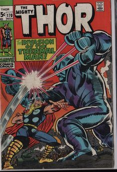 VF rare silver age Thor