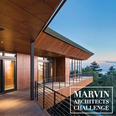 The 2018 Marvin Architects Challenge is now accepting projects featuring @IntegrityWindows. Submit your most creative and innovative work by April 29. See past projects that set the standard for winning on our Inspired by Marvin blog. Link in bio.