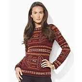 Lauren Ralph Lauren Knit Boatneck Sweater