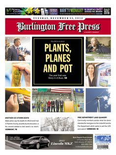 Looking back on Vermont politics in 2013 in today's Burlington Free Press www.burlingtonfreepress.com
