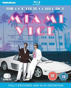 Miami Vice Blu-ray (The Complete Collection) Released on Blu-ray 12th December 2016 by Fabulous Films