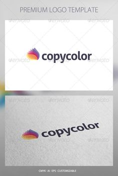 Copy Color - Abstract Logo Template  #GraphicRiver         Copy Color: a logo that can be used in copy centers and printing in printers, agencies and design studios, shops and brands of paints, among other uses. Its design is simple and easy to configure. Ready to print.    Customizable 100%   CMYK    AI – EPS    Font used Aller      Created: 28June12 GraphicsFilesIncluded: VectorEPS #AIIllustrator Layered: Yes MinimumAdobeCSVersion: CS Resolution: Resizable Tags: beauty #brand #branding…