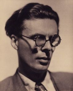 Aldous Huxley, 1934. Great British writer, Aldous Leonard Huxley, born July 26, 1894 in Godalming, Surrey, died November 22, 1963 in Los Angeles, California - the same day President Kennedy was shot.