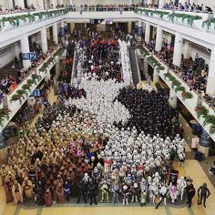 The 501st Legion, at 'Star Wars Celebration' 40th Anniversary, in Orlando Florida..