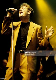 Huey Lewis of Huey Lewis and the News performs as part of the Bay Area Music Awards 1997 at the San Francisco Civic Auditorium on March 15, 1997 in San Francisco, California.