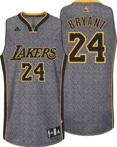 5b9f1c62b Mens Los Angeles Lakers Kobe Bryant 24 All-Over Static Basketball NBA Jersey  on eBid United States