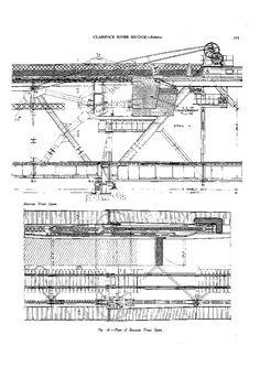 Building design information on the Grafton Bridge & railway line