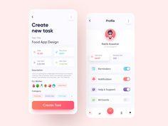 Motion App, Ui Components, Apps, Mobile Design, Mobile Ui, Ui Design, Graphic Design, No Response, Management