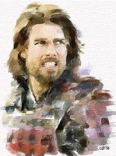 Tom Cruise. Vitaly Shchukin - Watercolor portrait. http://www.painterlog.com/2013/05/vitaly-shchukin-watercolor-portrait.html#more