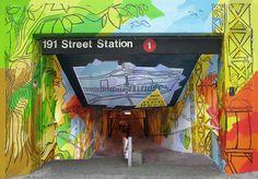 Washington Heights, Subway Station, NYC