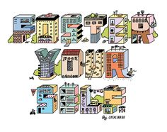 *Locals Only: Telefunken Studio The Fosters, Typography, Studio, Words, Archive, Tattoo, Illustration, Illustrations, Letterpress