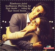 Find images and videos about deepika padukone, ranbir kapoor and yjhd on We Heart It - the app to get lost in what you love. Bollywood Quotes, Bollywood Couples, Bollywood Actors, Bollywood Celebrities, Ranbir Kapoor Deepika Padukone, Deepika Padukone Style, Cute Love Couple, Best Couple, Yjhd Quotes