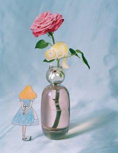 grace coddington commes des garcons perfume