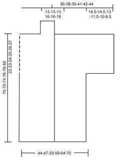 """Hellebore / DROPS 151-30 - Giacca DROPS ai ferri, a grana di riso in """"Andes"""" e """"Fabel"""". Taglie: Dalla S alla XXXL. - Free pattern by DROPS Design"""