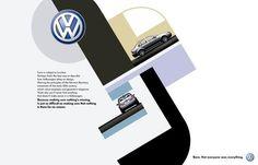 BAUHAUS, Volkswagen Bora, La Comunidad, Volkswagen, Impresos, Al aire libre, Publicidad