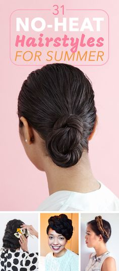 Get inspired by these hair ideas to create new styles on yourself!