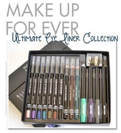 15 Minute Beauty Fanatic: Make Up For Ever's Ultimate Liner Set: The Perfect Liner Set!
