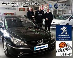 Divinas Busma nuevo jugador del @palenciabasket recoge su coche en @aupasapeugeot.  Aupasa con el deporte Palentino. #AUPASA #Palencia #deporte #basket