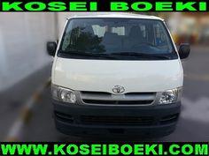 Export Japanese Used Van-Minivan Van-Minivan Hiace Van ( 15 Seater Bus LHD ) 2011 (1369) Vehicles Direct From Japan