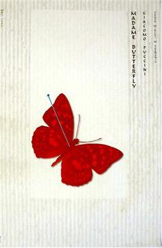 Madame Butterfly Madame Butterfly Kaja Ryszard Polish Poster