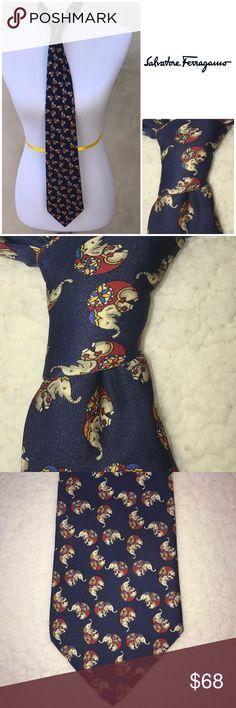 Vintage Authentic Salvatori Ferragamo silk tie EUC Vintage Authentic Salvatori Ferragamo silk tie EUC Salvatore Ferragamo Accessories Ties