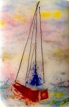 Day Sail - Original Fine Art for Sale - © by Kristen Dukat