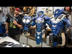 Making Sci-Fi Armor for a Video Game Trailer - YouTube