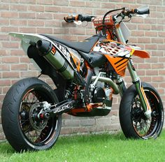 #Supermoto #KTM #Wheel #Motorcycle KTM 450 EXC, Akrapovič, KTM 125 EXC, Derbi - Follow #extremegentleman for more pics like this!