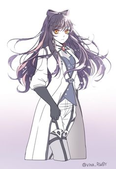 Kinda reminds of an adult Clarity even tho ik it's Blake frm RWBY