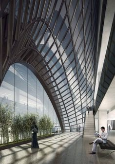 Chaoyang Park Plaza by MAD architects | wordlessTech
