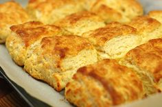 Easy to make flakey, buttery biscuits