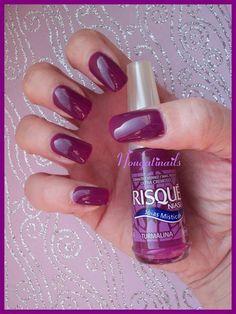 Maroon Nails - #nailpolish #nailswatch #nails #parlezenauxcopines - bellashoot.com / bellashoot iPhone & iPad app