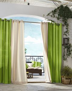 37 Unique And Super Colourful Bedroom Curtain Designs And Ideas throughout proportions 810 X 1024 Green Curtains For Bedroom - Room curtains are essential Large Window Curtains, Outdoor Curtains, Green Curtains, Colorful Curtains, White Curtains, Large Windows, Drapes Curtains, Neutral Curtains, Curtain Panels