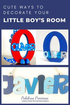 Finding the perfect décor for your little boy's room that conveys the love and emotion surrounding your little one is not easy. Chat with me today to create the unique design for your room name sign that reflects their bedroom style and personality. Let's turn your vision into beautiful wall name letters that will have everyone commenting and be the envy of their friends. #kidsroom #boysroom #toddlerroomdecor