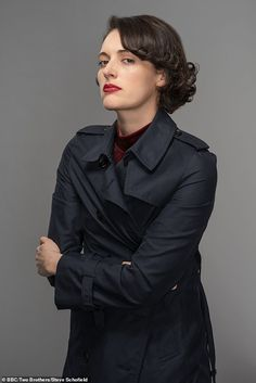 Fleabag, the new fashion icon who gets it so wrong, it's right! The TV star is sending sales soaring Goodbye Christopher Robin, Tv Icon, Phoebe Waller Bridge, Backless Jumpsuit, New Girlfriend, Character Aesthetic, Famous Women, Business Women, Style Icons
