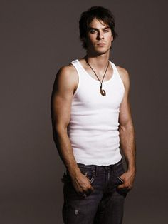Ian Somerhalder; Accidentally almost put him in the Desserts board I have, then I realized that makes sense... xD