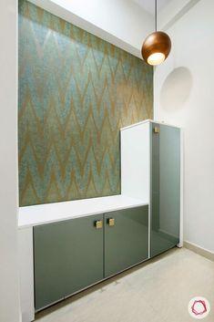 Room Door Design, Pooja Room Design, Home Room Design, Bedroom Furniture Design, Home Decor Furniture, Home Decor Bedroom, Hallway Designs, Hallway Ideas, Flat Interior Design