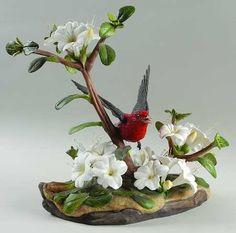 Boehm Birds: Scarlet Tanager