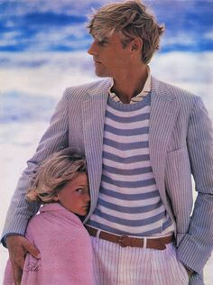 American Summer prep, courtesy of Ralph Lauren. All the colors and patterns are… Preppy Mens Fashion, Look Fashion, Retro Fashion, Prep Fashion, Formal Fashion, Fashion Guide, Ivy League Style, Bcbg, Dapper Gentleman