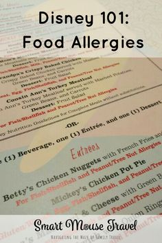 5 Minute Guide to Dealing with Food Allergies at Disney World and Disneyland - Smart Mouse Travel