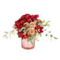 18 Glass Vase, Red, Home Decor, Decoration Home, Room Decor, Home Interior Design, Home Decoration, Interior Design