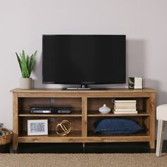 Look at Driftwood color. You'll love the Sunbury TV Stand at Wayfair - Great Deals on all Furniture  products with Free Shipping on most stuff, even the big stuff.