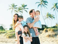 fun and colorful and love filled family photography pictures on lahaina beach by maui family photographer wendy laurel-1