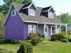 ...House purple