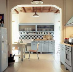 Aesthetic Italian Kitchen Design: Arched Doorways Italian Kitchen Design ~ Kitchen Inspiration