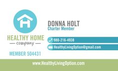 The Healthy Home Company is focused on making the home a healthier place to raise a family! Organic, Ecocert, ToxicFree and natural ingredients made in the USA, GMO-Free and Cruelty-Free with BPA-Free packaging!