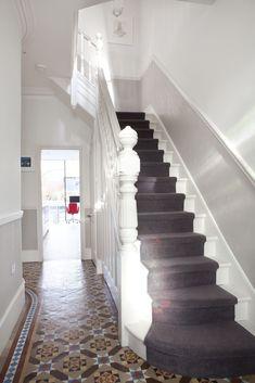Hallway tiles design