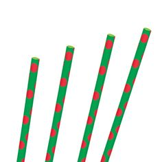 Red and Green Polka Dot Party Straws Polka Dot Party, Polka Dots, Office Christmas Party, Christmas Cocktails, Straws, Cocktail Drinks, Young Women, Green, Polka Dot